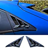 Rifoda for 10th Gen Honda Civic Hatchback 2016-2020 Window Louvers Air Vent Scoop Shades Cover Blinds for Civic Type R…