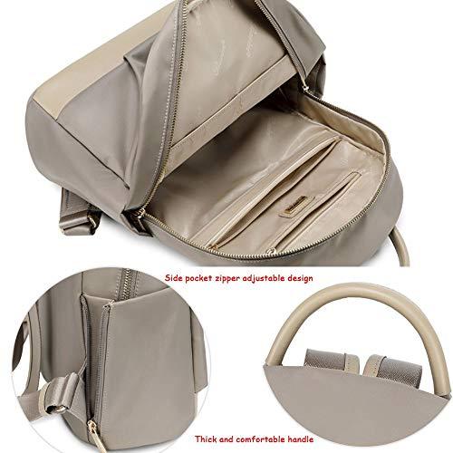 color Sauvage Sac Oxford Mode En À Femme Décontracté Dos Capacité Tissu Étudiant Léger Grande Coréen Apricot Backpack Apricot Sx7ZS