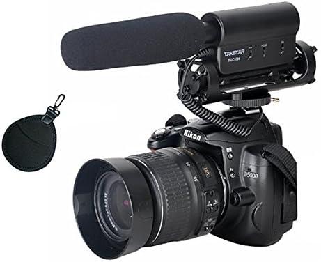 First2savvv SGC-598PAL0201 Pro DV-cámara Estéreo-micrófono para la ...