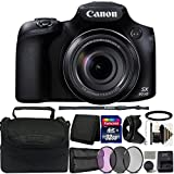 Canon PowerShot SX60 HS 16.1MP Digital Camera 65x Optical Zoom and 32GB Accessory Kit