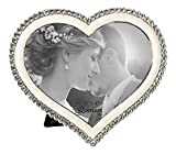 Best Picture Frames With Heart Shaped - Roman 19638 The Caroline Collection Heart Shaped Photo Review