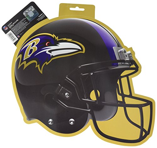 Baltimore Ravens Decorations - Amscan (Amsdd Party Cutouts Decoration, 6 Pieces