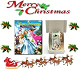 Christmas Gift Pack - The Swan Princess: A Royal Family Tale [NON USA FORMATTED VERSION REGION 2 DVD] + Ye Old Cornish Christmas Sweets Gift Bag