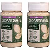 Go Veggie Vegan Parmesan Cheese (Pack of 2) (4 Ounces)