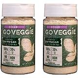 Go Veggie Vegan Parmesan Cheese (Pack of 2) (4 Ounces)