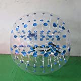 Yoli Colorful,clear, Red ,Blue Bubble Soccer Ball Dia 4.9' (1.5m) Human Inflatable Bumper Bubble Balls,inflatable Bubble Zorb Ball