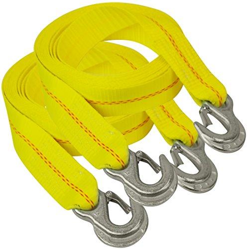 Vulcan Tow Strap w/ Snap Hooks 2'' x 20' - 2 - Snap Hook Strap