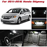 Partsam Interior LED Package + Back Up Lights Replacement for 2011-2016 Honda Odyssey,