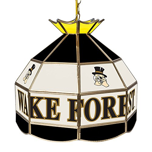 NCAA Wake Forest University Tiffany Gameroom Lamp, 16'' by Trademark Gameroom
