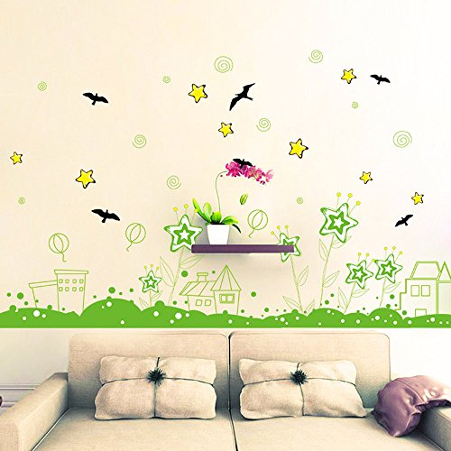 - MURTIAL DIY Plant Removable Wall Decal Family Home Sticker Mural Art Home Decor