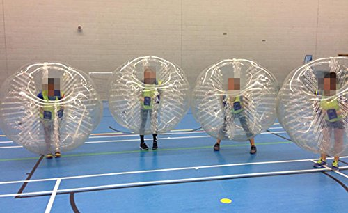 Holleyweb™ Clear Bubble Soccer Suits Kids Size 1.2 Meter 4ft Bubble Soccer Equipment for Sale