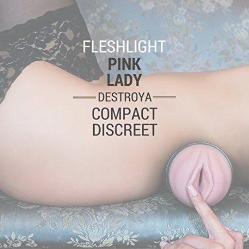 Fleshlight Pink Lady Destroya | Hyper Realistic Male Masturbator | Sex Toy For Men