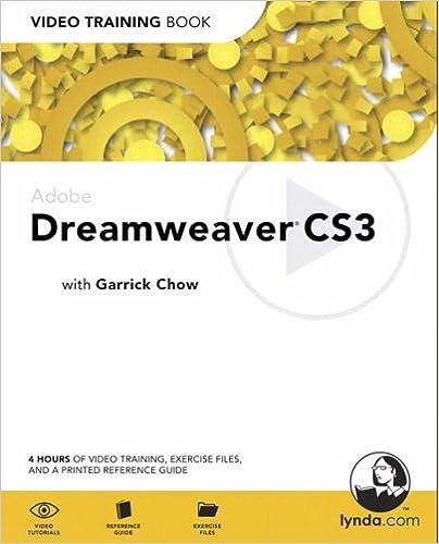 Adobe Dreamweaver CS3: Video Training Book