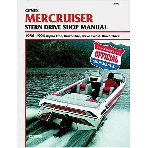 Clymer Mercury Crusier Manual from Clymer