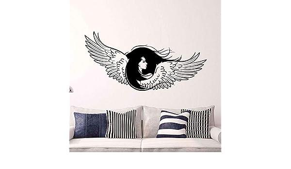 woyaofal Memorial Guardian Inspirador alas de ángel calcomanía ...