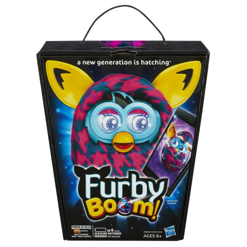 Furby Boom (Purple Houndstooth) - Buy Online in UAE. | Toy ...