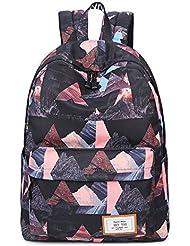 HeyYoo Casual Backpack Fashion Waterproof Bookbag School Backpack For Teen Girls