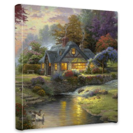 Thomas Kinkade Stillwater Cottage wall art