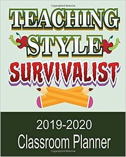 teaching style survivialist classroom planner