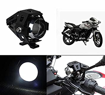 Speedwav Cree U5 Bike Projector White Led Aux Light Tvs Apache Rtr