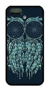 Owl Dream Catcher Theme Iphone 5 5s case Hard Material