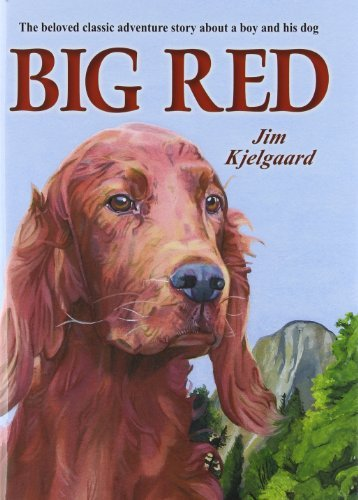 Big Red;: The story of a champion Irish setter and a trapper's son who grew up together, roaming the wilderness