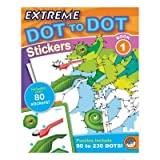 Extreme Dot to Dot Stickers: Book 1