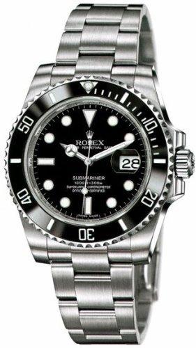 Nunca usado ROLEX SUBMARINER 116610 por Rolex reloj para hombre