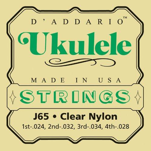 D'Addario J65 Ukulele Strings, Soprano D'Addario