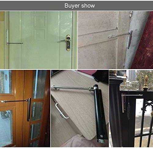 DINGCHI - Cierrapuertas para puerta de 35 kg, fácil de instalar para convertir puertas con bisagras en cierre automático, hardware de puerta: Amazon.es: Bricolaje y herramientas