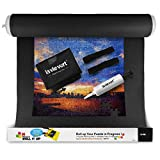 Lavievert-Jigsaw-Puzzle-Roll-Mat-Puzzle-Storage-Mat-Felt-Mat-Long-Box-Package-Jigroll-Up-To-1500-Pieces--Comes