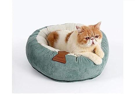 Zhengtu Cama De Invierno para Gatos, Cama Redonda para Gatos ...