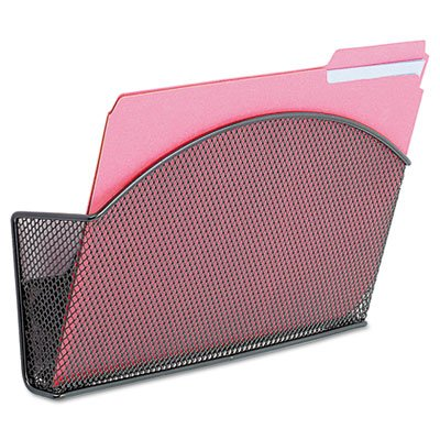 (Onyx Magnetic Mesh Panel Accessories, Single File Pocket, Black)