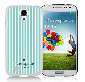 Personalized Design Kate Spade Samsung Galaxy S4 I9500 White Hard Plastic Phone Case 025