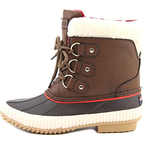 Tommy Medium Women's synthetic Brown Hilfiger Ebonie YrYt8q