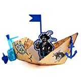 PowerUp Toys Powered Wind Up Paper Boat Conversion Kit, Pool Toy