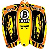 WOW World of Watersports 1-4 Person Bolt Towable, Orange,...