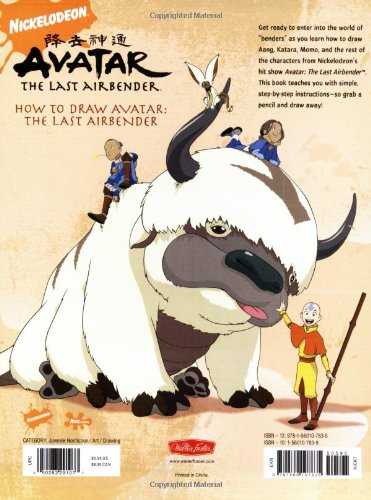 How to Draw Avatar: The Last Airbender (Licensed Learn to Draw)