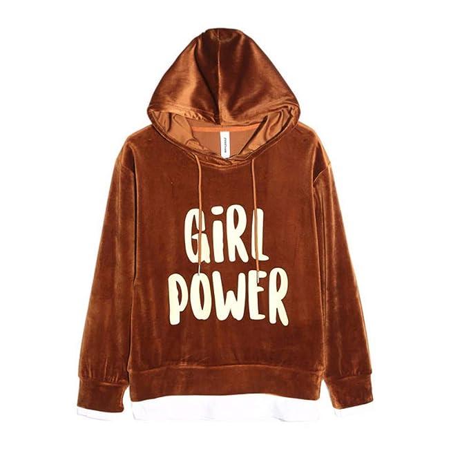 Lxj Sweater 2018 Mujeres Primavera Manga Larga Salvaje con Capucha suéter Femenino Abrigo Suelto: Amazon.es: Ropa y accesorios