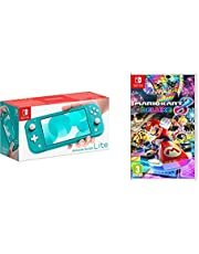 Nintendo Switch Lite - Turquoise + Mario Kart 8 Deluxe