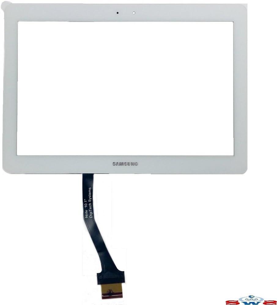 SWS - Pantalla táctil de Repuesto para Samsung Galaxy Tab 2, 10,1 ...