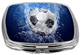Rikki Knight Compact Mirror, Soccer Ball Splash
