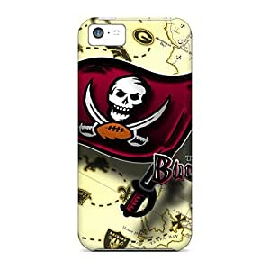 CIK1287YYWD Tampa Bay Buccaneers Fashion Tpu 5c Case Cover For Iphone