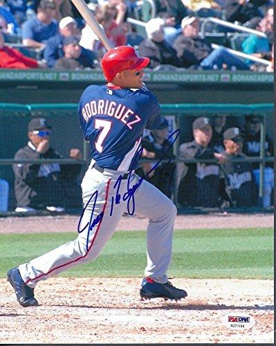 Ivan Rodriguez Rangers Signed Autographed 8x10 Photo Autograph Auto PSA/DNA Ad71194 - Ivan Rodriguez Autographed Photo