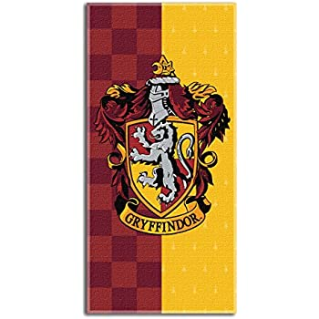 "Harry Potter House Crests Beach Towel 30"" x 60""- Gryffindor"