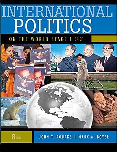 Amazon. Com: international politics on the world stage, brief 8th.