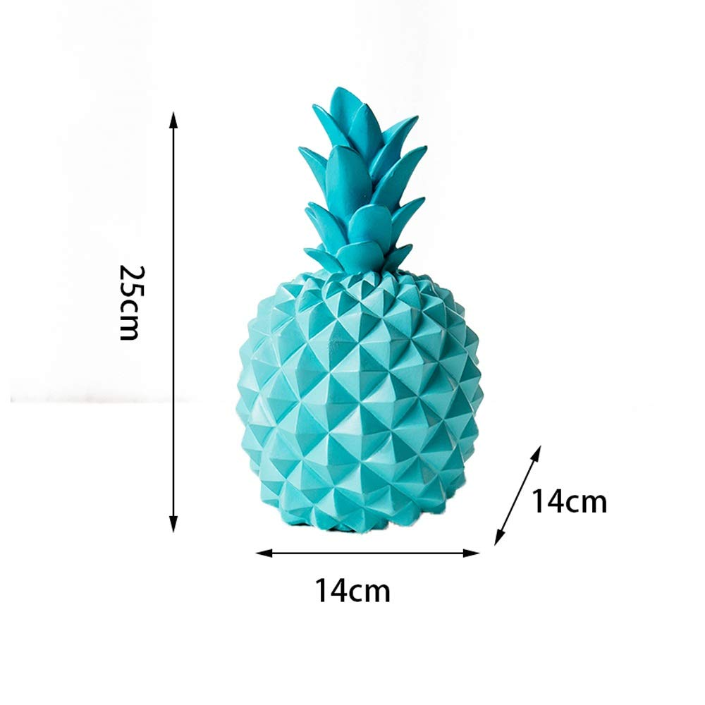 Beperfectly Pineapple Girls Piggy Bank Ceramic Pineapples Shape Cans Money Banks Decorative Kids Adults Piggy Bank for Home Bedroom Party Decorations Valentines Day Kids Birthday Gifts