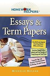 Homework Helpers: Essays & Term Papers (Homework Helpers (Career Press))