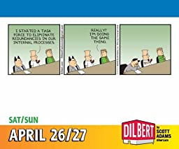 Dilbert 2014 Day-to-Day Calendar: There\'s No Kill Switch on Awesome.
