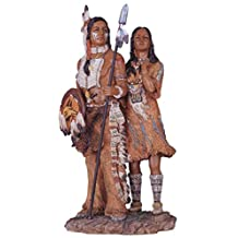StealStreet SS-G-11334 Native American Couple Collectible Indian Figurine Sculpture Statue